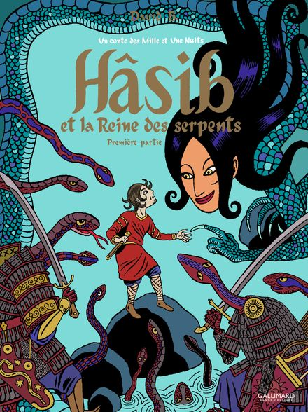 Hâsib et la Reine des serpents - David B.