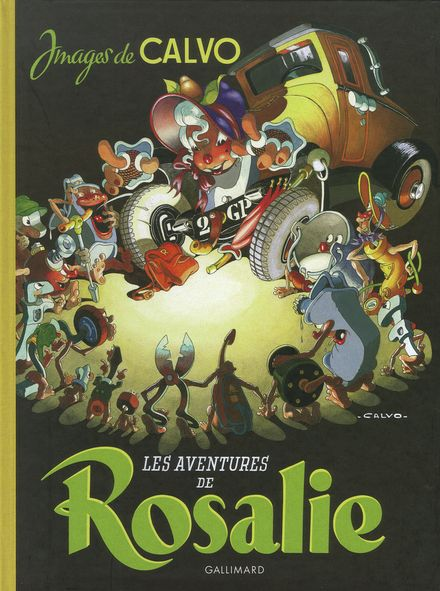 Les Aventures de Rosalie -  Calvo