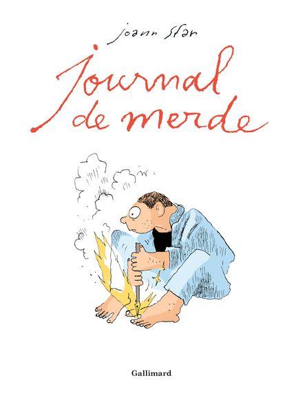 Journal de merde - Joann Sfar