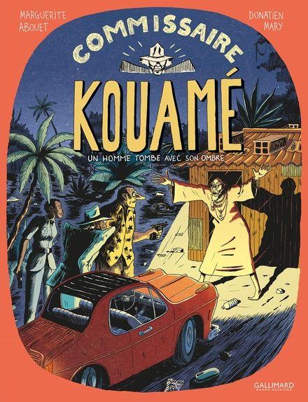 Commissaire Kouamé, 2 Un homme tombe avec son ombre - Marguerite Abouet, Donatien Mary