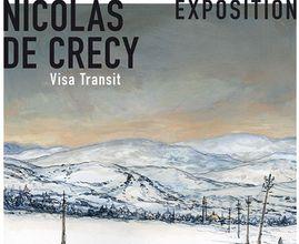 Exposition Nicolas de Crécy, Gallimard BD