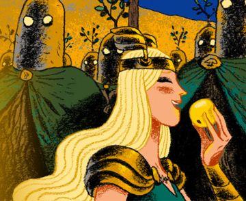 La Princesse guerrière