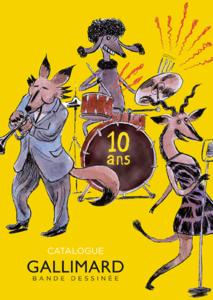 Catalogue Gallimard BD 10 ans